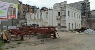 Харьковская филармония во время реставрации
