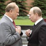 Музыкальный анекдот от В. В. Путина (в изложении Г. А. Зюганова)