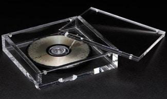 Стеклянный компакт-диск