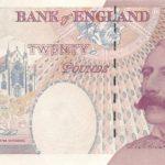 Банкнота с изображением Эдуарда Элгара