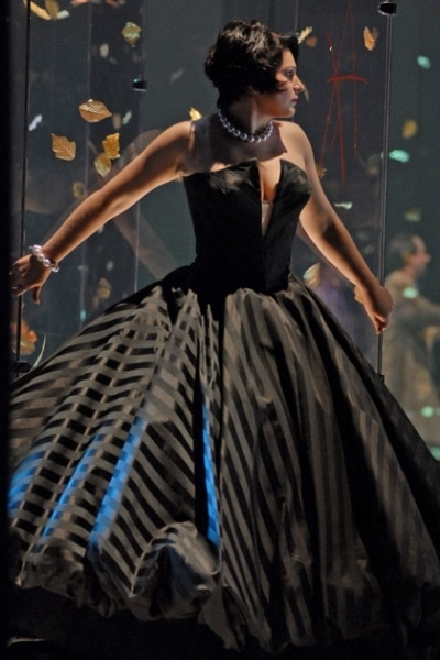 "Хибла Герзмава в роли Виолетты в опере ""Травиата"". Фото - Владимир Лапин"