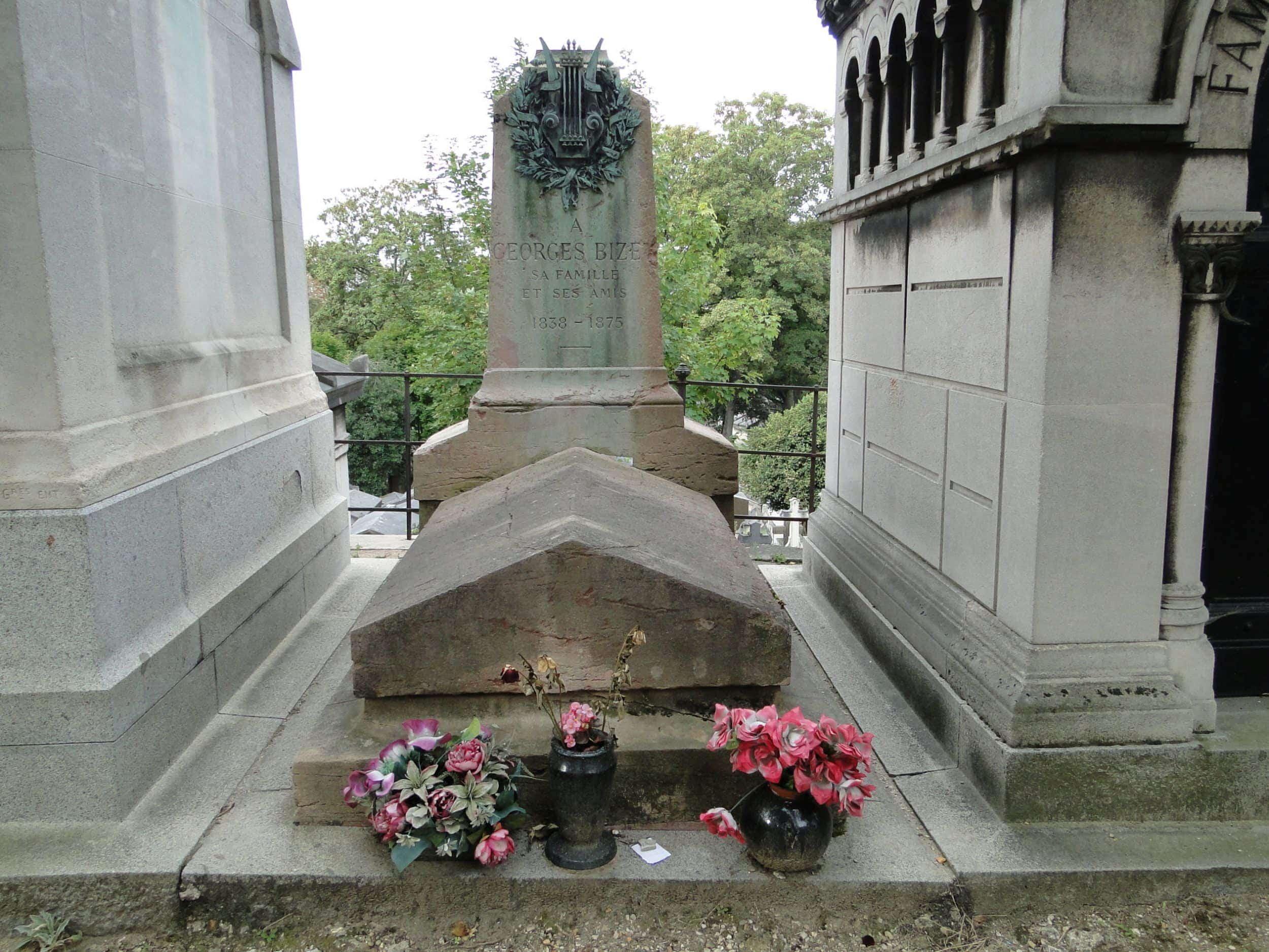 Памятник Жоржу Бизе украден с кладбища Пер-Лашез