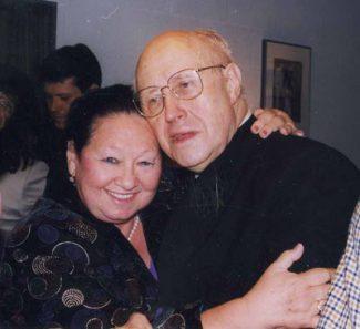 Лия Могилевская и Мстислав Ростропович