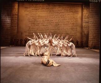 "Сцена из балета ""Ярославна"", 1974 год"