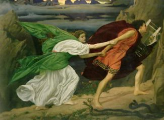 "Эдвард Джон Пойнтер. ""Орфей и Эвридика"""