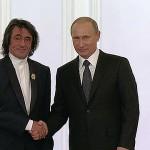 Путин лично поздравил Башмета и подарил ему редкую книгу
