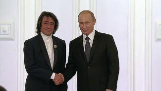 Юрий Башмет и Владимир Путин