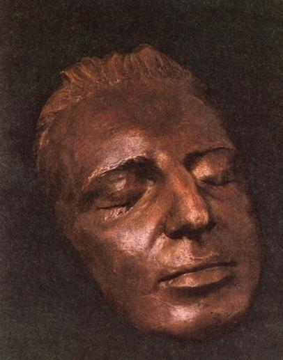 Посмертная маска Моцарта