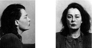 Лина Прокофьева. Фотография из личного дела после ареста