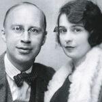 Сергей Прокофьев и Лина Прокофьева