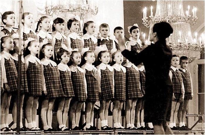 Большой детский хор, 1970 год