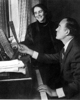 Нина Дорлиак и Святослав Рихтер
