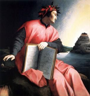 Аньоло Бронзино. Аллегорический портрет Данте. 1530