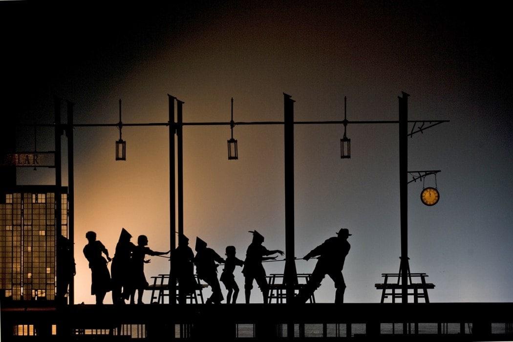 """Вертер"" Массне. Сцена из I акта. Фото - Олег Черноус"
