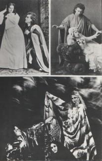 """Сцены из оперы А. Г. Рубинштейна """"Демон"""". Мариинский театр, 1875 год"""