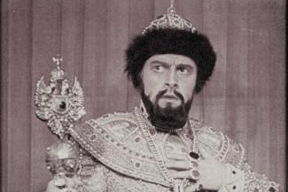 Борис Христов в роли Бориса Годунова