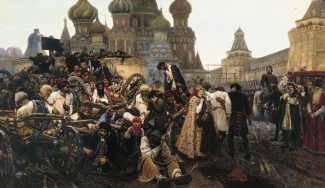 В. Суриков, «Утро стрелецкой казни», 1881 год