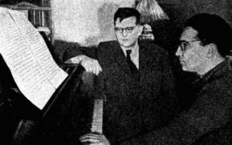 Дмитрий Шостакович и Кара Караев