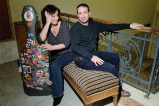Елена Ревич и Борис Андрианов. Фото - Евгений Гурко