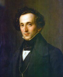 Феликс Мендельсон-Батольди. Художник Теодор Хильдебрандт, 1834 год