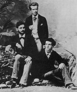 Трио Надежды фон Мекк Данильченко (скрипка), Пачульский (виолончель), Дебюсси (фортепиано), 1880 год