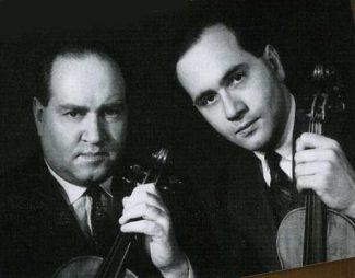 Давид Ойстрах с сыном Игорем