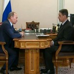 Владимир Путин и Александр Авдеев