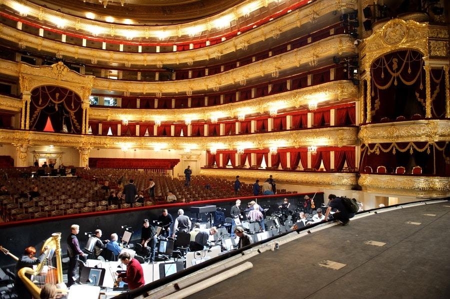Открытие исторической сцены Большого театра - Фото