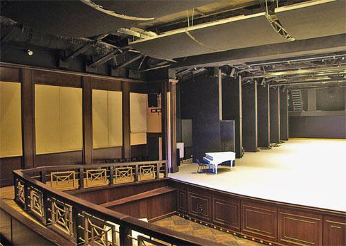 Верхняя сцена Большого театра