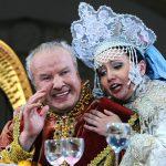 Альбина Шагимуратова (Людмила) и Глеб Никольский (Светозар). Фото - Владимир Вяткин / ТАСС