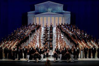 Концерт, посвященный открытию исторической сцены Большого театра
