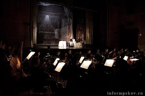 Воспитанники Центра оперного пения Галины Вишневской на Пушкинском фестивале