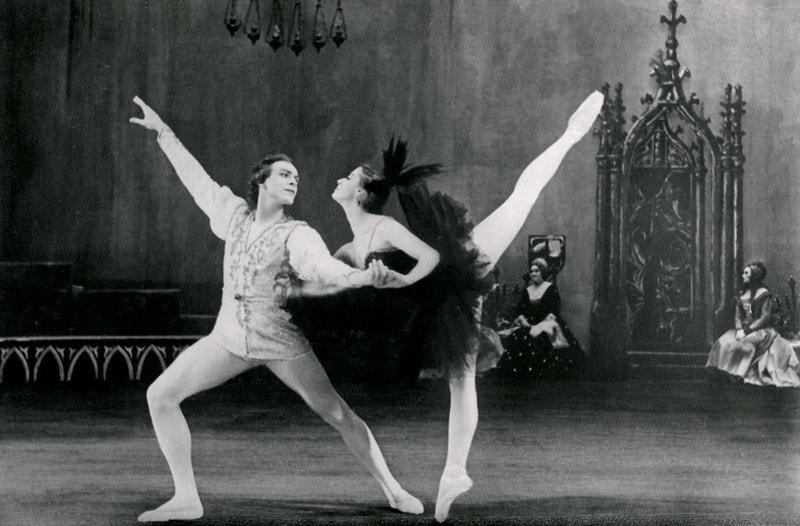 Николай Фадеечев и Майя Плисецкая, 1956 год