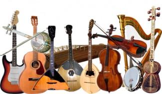 Музыкальные инструменты из строительных материалов