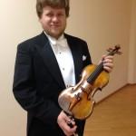 Скрипач Андрей Баранов стал победителем Конкурса имени королевы Елизаветы