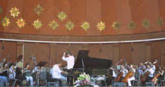 Оркестр МАМТ на открытой сцене в Сокольниках