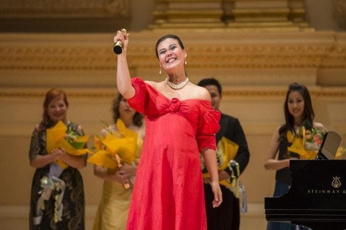 Яя Ханьин Цзо, обладательница Золотой премии. Фото - Дай Бин/Великая эиоха