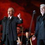 """""""Все в жизни надо делать только с любовью"""". Пласидо Доминго и Хосе Каррерас дали единственный концерт в Москве"""