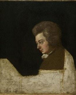 Один из самых известных портретов Моцарта 1789 года оказался цельным фрагментом другой, незавершённой картины.
