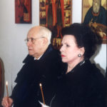 Мстислав Ростропович и Галина Вишневская