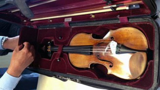 Украденная скрипка Страдивари