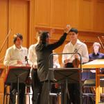Юрий Башмет и юношеский симфонический оркестр