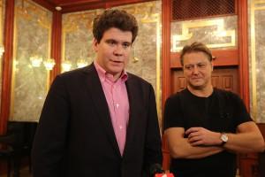 Денис Мацуев и Александр Сладковский. Фото - Олег Косов