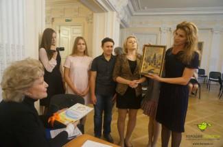 Елена Образцова с южноуральскими юными певцами