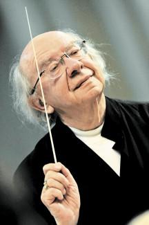 Геннадий Рождественский. Фото - Владимир Вяткин
