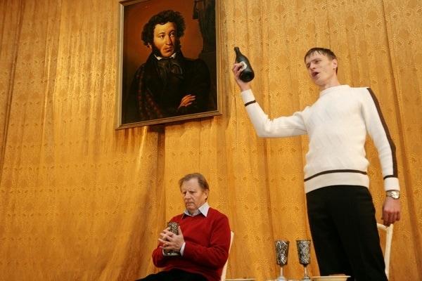 Артисты нижегородского оперного театра во время репетиции в Большом Болдино. Фото: Николай Нестеренко