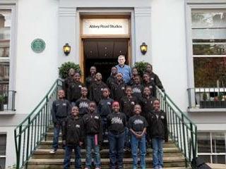Африканский детский хор