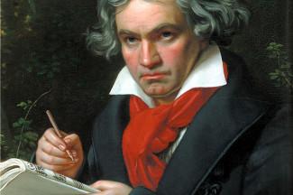 Людвиг ван Бетховен. Портрет Карла Штилера, 1820 год
