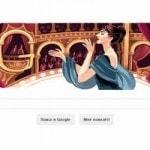 90-летие Марии Каллас вдохновило дизайнеров Google на новый логотип