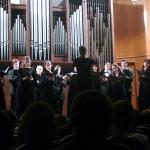 Вокальный ансамбль «Intrada» в Малом зале Московской консерватории